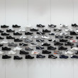 Bright and clean shoes store — Foto de Stock