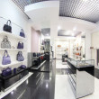Luxury european bag store — Stok fotoğraf