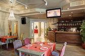 Luksusowa restauracja w stylu europejskim — Zdjęcie stockowe