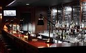 Luxury restaurant in european style — Stock Photo