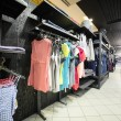 European brand new clothes shop — Foto Stock