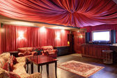 Luxus karaoke im europäischen stil — Stockfoto