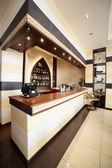 Luxusrestaurant im europäischen stil — Stockfoto