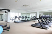 Bright gym with a lot of windows — Foto de Stock