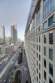 Downtown of dubai city — Foto Stock