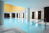 Swiming pool inside building — Stock Photo