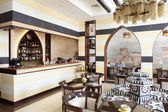Luxury restaurant in european style — ストック写真