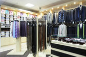 European brand new clothes shop — Стоковое фото