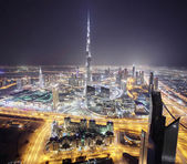 Downtown of dubai city — ストック写真