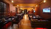 在欧洲风格的豪华餐厅 — 图库照片