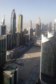 Downtown of dubai city — Foto de Stock