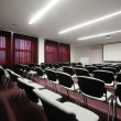 Big and spacious conference room — Stock Photo