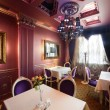 Luxury restaurant in european style — Foto de Stock