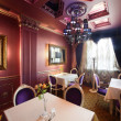 Luxury restaurant in european style — Photo