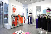 European brand new clothes shop — Foto de Stock
