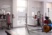 Gym with special equipment, empty — Photo