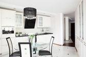 Moderní kuchyně s stylový nábytek — Stock fotografie