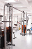 Gym with special equipment, empty — Stock Photo