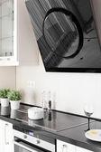 Modern kitchen with stylish furniture — 图库照片