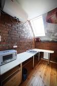 Cucina moderna con mobili in stile — Foto Stock