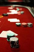 Mörka interiören av Europeiska casino — Stockfoto