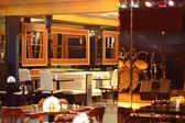 Beautiful interior of modern restaurant — Foto Stock