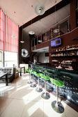 モダンなレストランの美しいインテリア — ストック写真