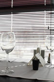 Beautiful interior of modern restaurant — Stok fotoğraf