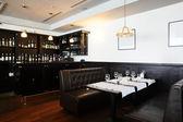 Beautiful interior of modern restaurant — Fotografia Stock