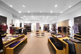 European clothing store with huge collection — Foto de Stock