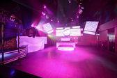 Noc nowoczesny klub w stylu europejskim — Zdjęcie stockowe
