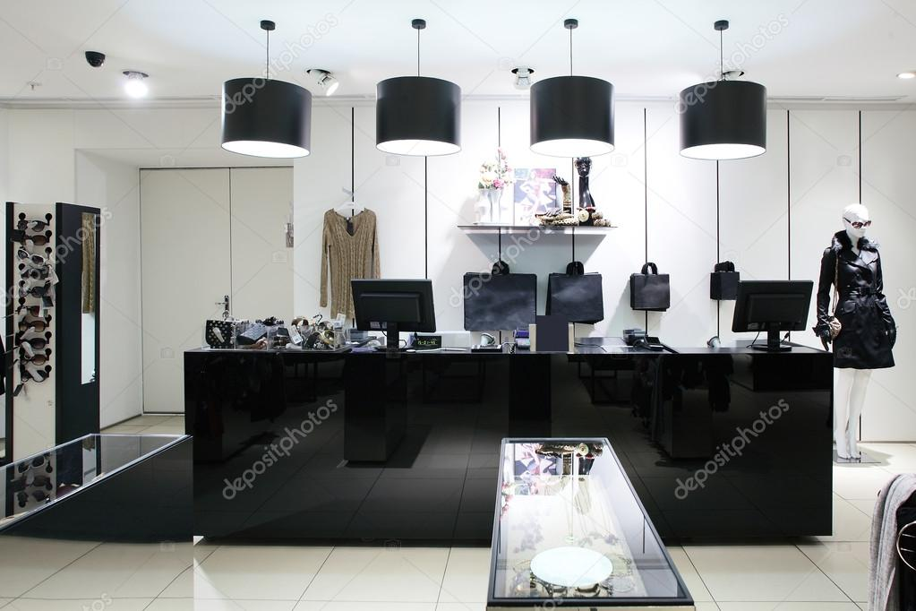 Premise Of Shop Of Clothes, Autumn Collection Stock Photo, Picture