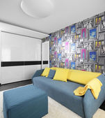 Colourful interior of children room — Stockfoto
