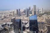 Dubai downtown beautiful city view — Stock fotografie