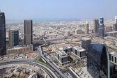 Dubai downtown beautiful city view — Foto Stock