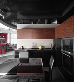 Interior of modern european kitchen — Stock fotografie