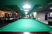 Interior of beautiful and modern billiard — Stockfoto