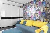 Colourful interior of children room — Stock fotografie