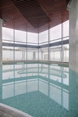 Modern interior of swimming pool — Stockfoto