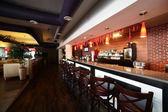 European restaurant in bright colors — Stok fotoğraf