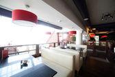 European restaurant in bright colors — Stock fotografie