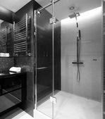 Interior of modern toilet in european style — Stock Photo