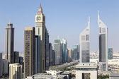 Dubai downtown beautiful city view — Photo