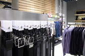 Brand new interior of cloth store — Foto de Stock