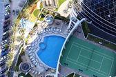 Modern interior of swimming pool — Photo