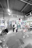 Wnętrze jasne bielizna sklep — Zdjęcie stockowe