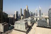 迪拜市中心的美丽城市景观 — 图库照片