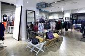 Brand new interior of cloth store — Stock fotografie