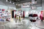 Interior of bright underwear shop — Stock Photo