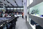 Brand new interior of cloth store — ストック写真
